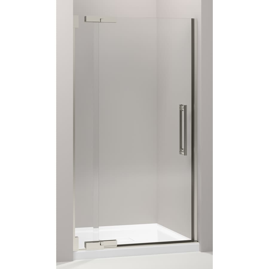 Shop Kohler Purist 3925 In To 4175 In Frameless Pivot Shower Door