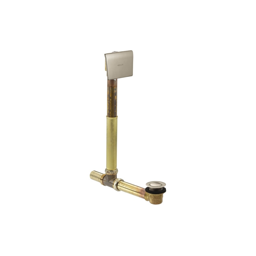 KOHLER 1-1/2-in Vibrant Brushed Bronze Triplever with Brass Pipe