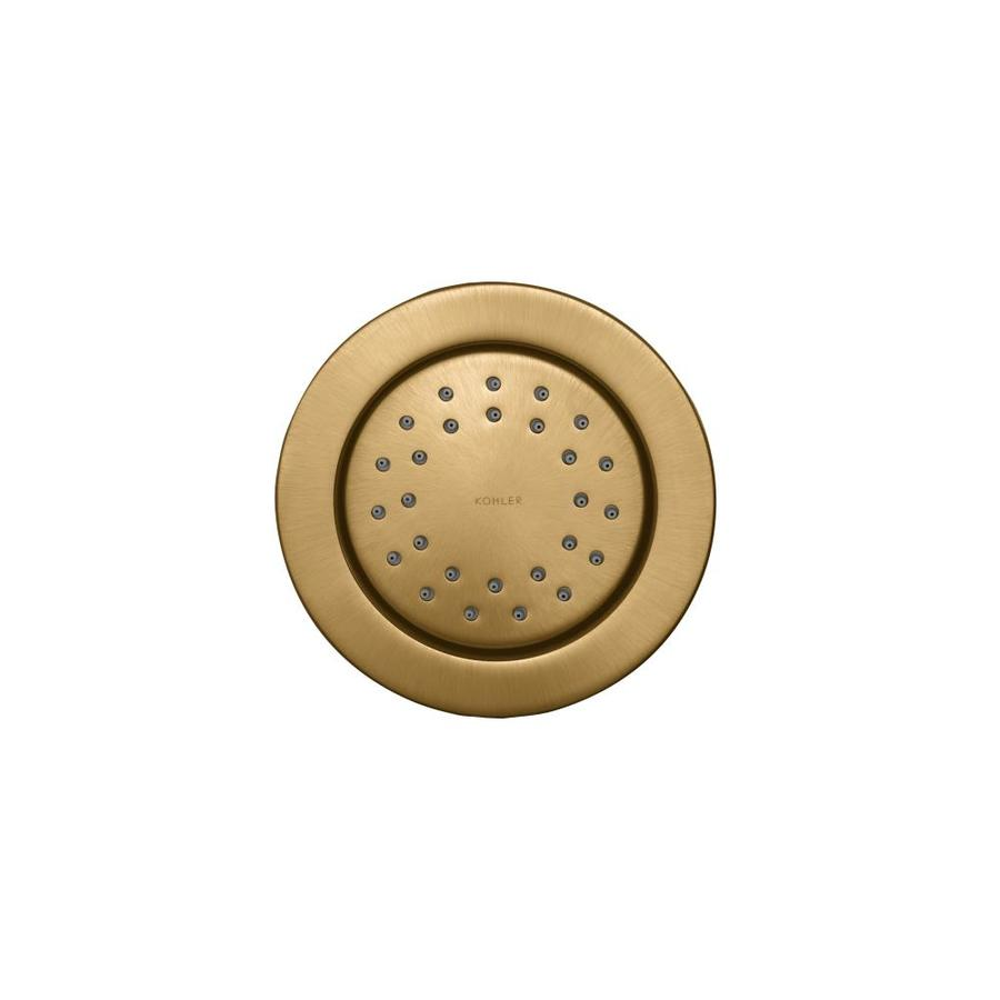 KOHLER WaterTile Vibrant Brushed Bronze Bathtub and Shower Jet