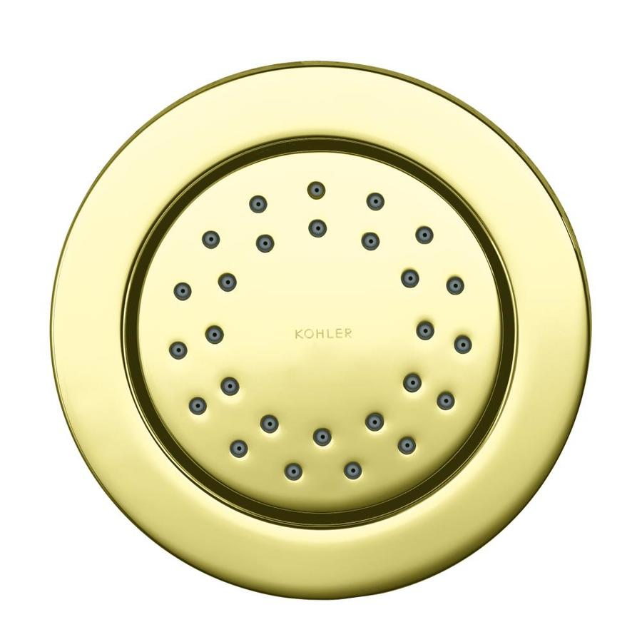 KOHLER WaterTile Vibrant French Gold Bathtub and Shower Jet