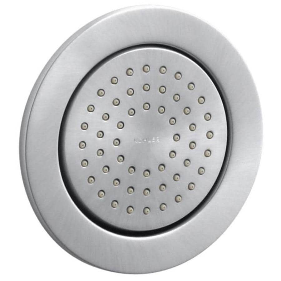 KOHLER WaterTile Brushed Chrome Bathtub and Shower Jet