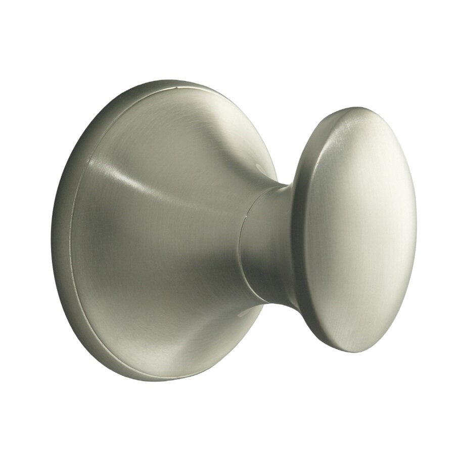 KOHLER Coralais Vibrant Brushed Nickel Robe Hook