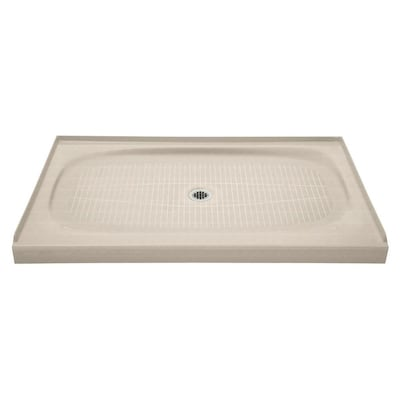 Salient Cane Sugar Cast Iron Shower Base 36 In W X 60 L With Center Drain