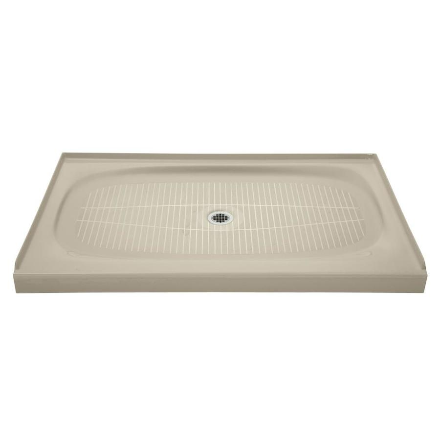 KOHLER Salient Sandbar Cast Iron Shower Base (Common: 36-in W x 60-in L; Actual: 36-in W x 60-in L)