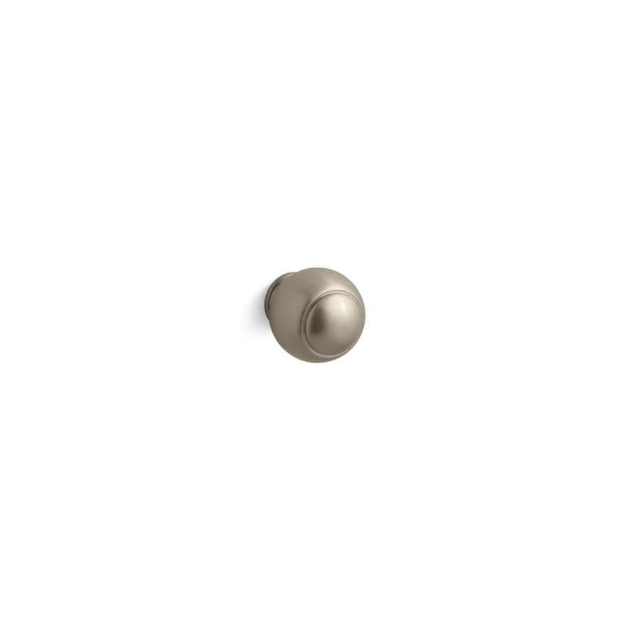 KOHLER Lyntier Vibrant Brushed Bronze Round Cabinet Knob