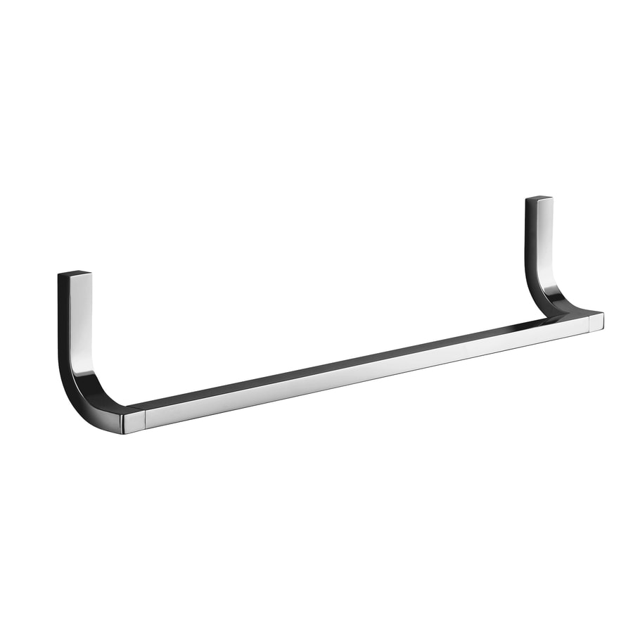 KOHLER Loure Polished Chrome Single Towel Bar (Common: 18-in; Actual: 18.75-in)