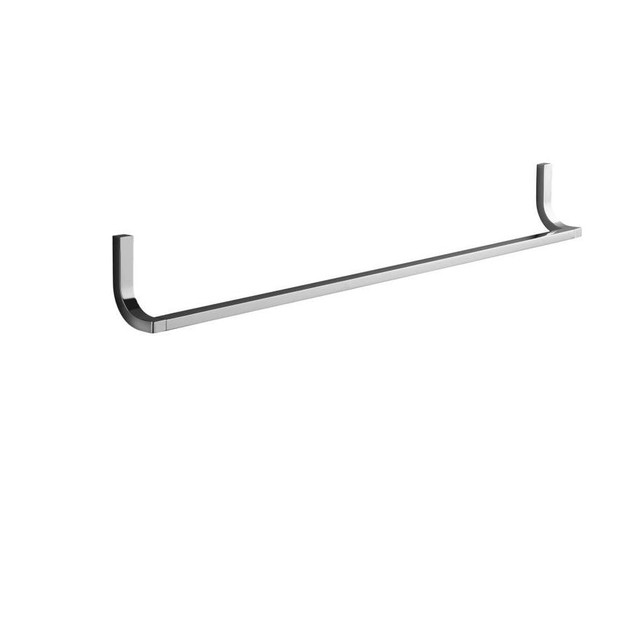 KOHLER Loure Polished Chrome Single Towel Bar (Common: 30-in; Actual: 18.75-in)