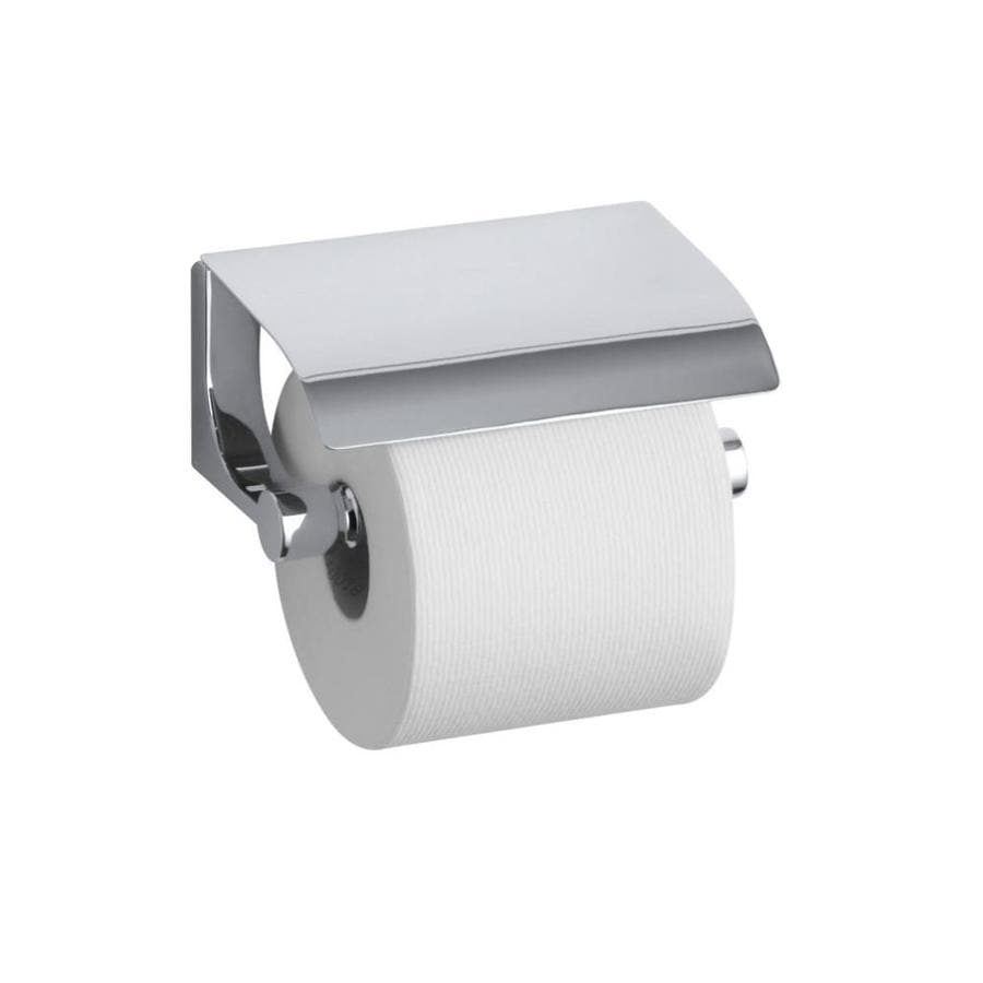 Kohler Loure Polished Chrome Surface Mount Spring Loaded Toilet