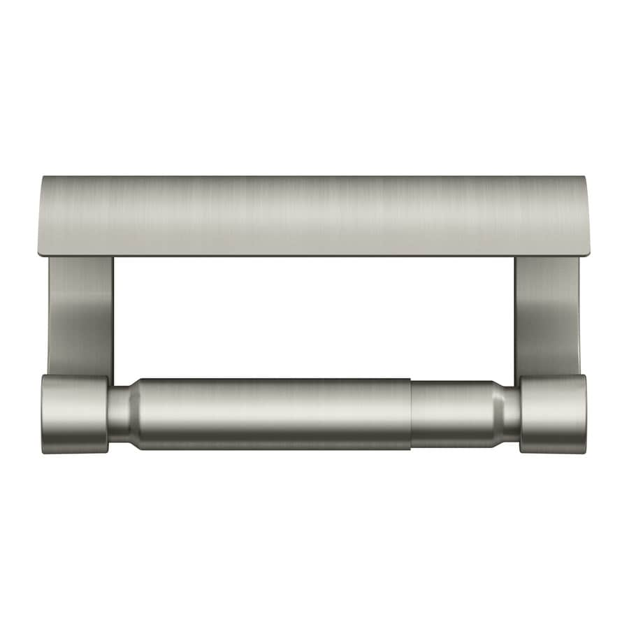 KOHLER Loure Vibrant Brushed Nickel Surface Mount Toilet Paper Holder