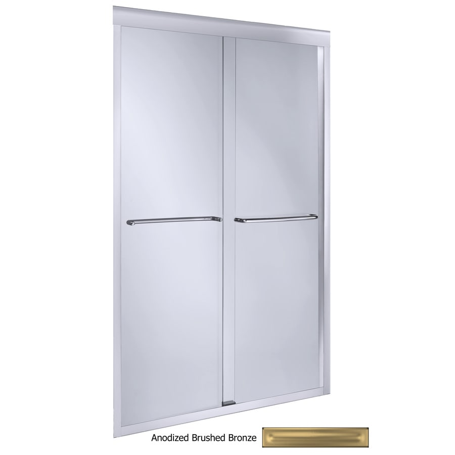 KOHLER Fluence 44-in to 47-in Frameless Shower Door
