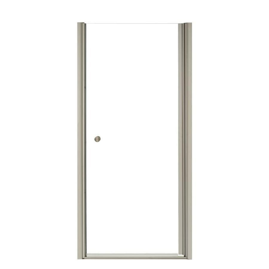 KOHLER Fluence 37.5-in to 39-in Frameless Pivot Shower Door