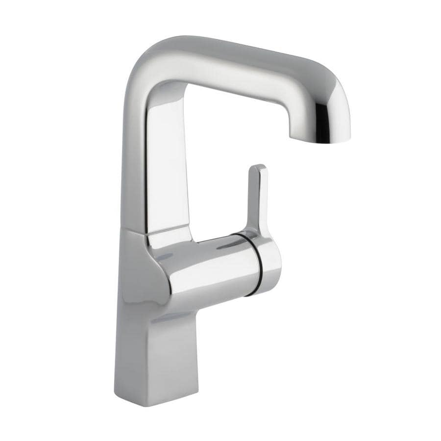 KOHLER Evoke Polished Chrome 1-Handle High-Arc Kitchen Faucet