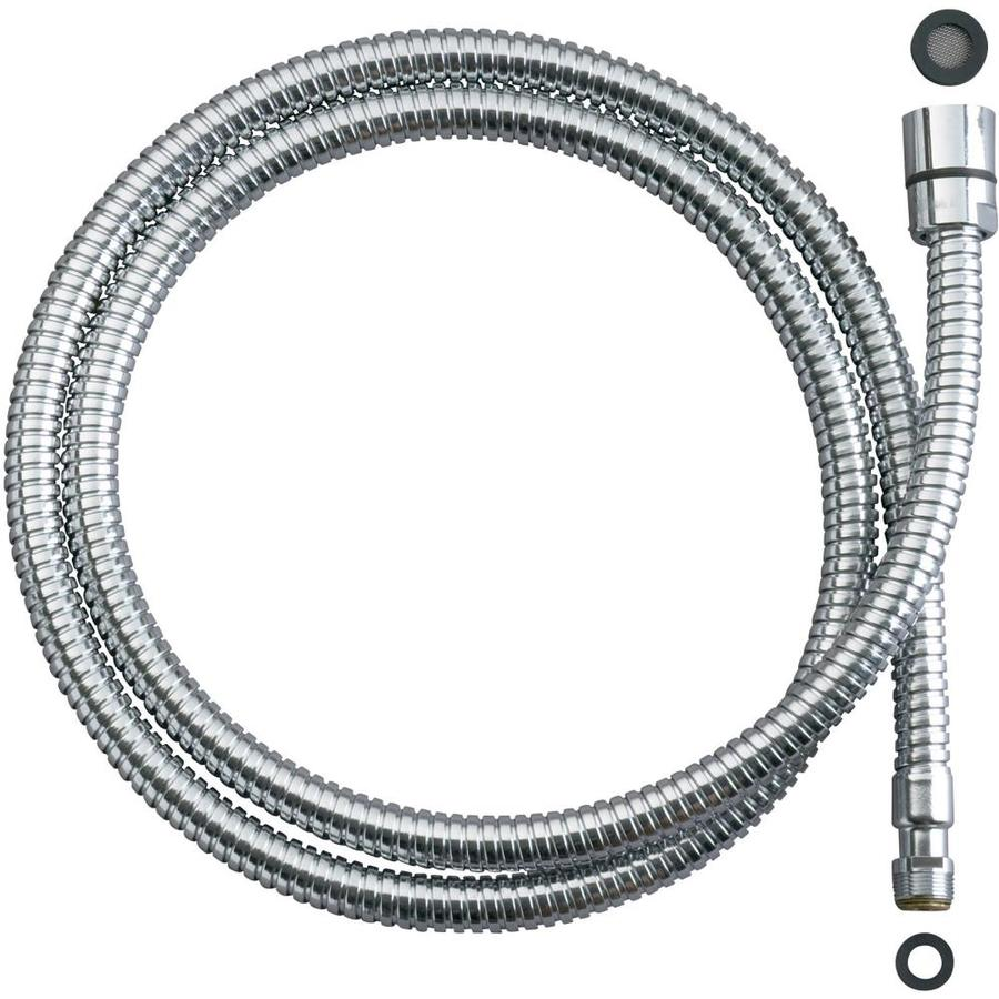 Shop KOHLER 36-in Stainless Steel Braided Faucet Spray Hose at Lowes.com