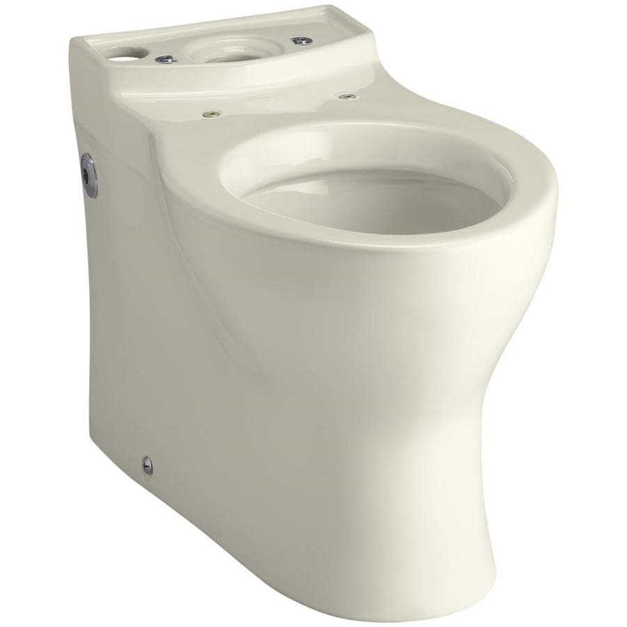 KOHLER Persuade Standard Height Almond 12-in Rough-In Elongated Toilet Bowl
