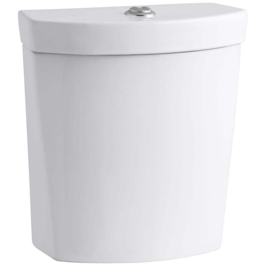 KOHLER Persuade White 1.6-GPF 12-in Rough-In Dual-Flush Toilet Tank
