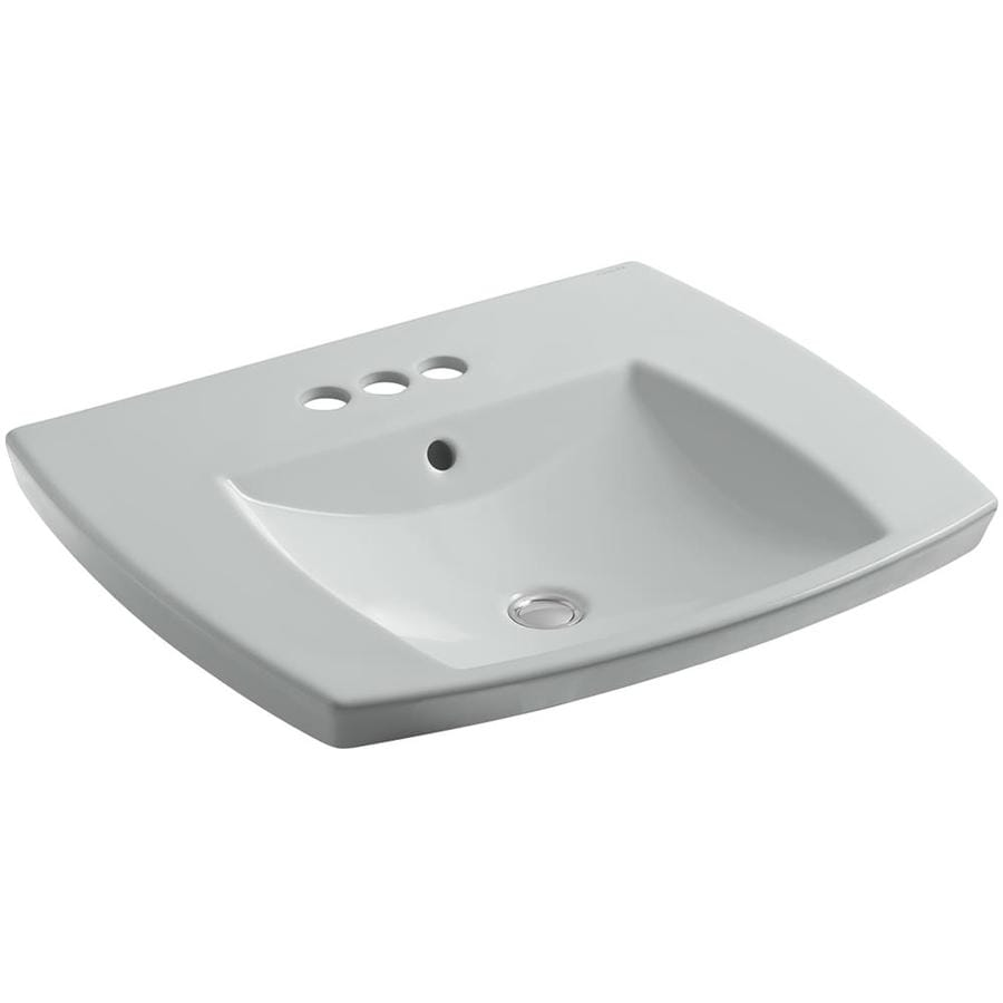 KOHLER Ice Grey Fire Clay Bathroom Sink