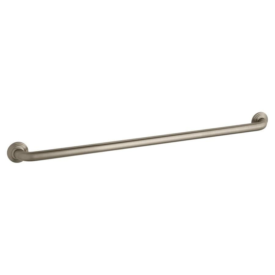 KOHLER 36-in Vibrant Brushed Bronze Wall Mount Grab Bar