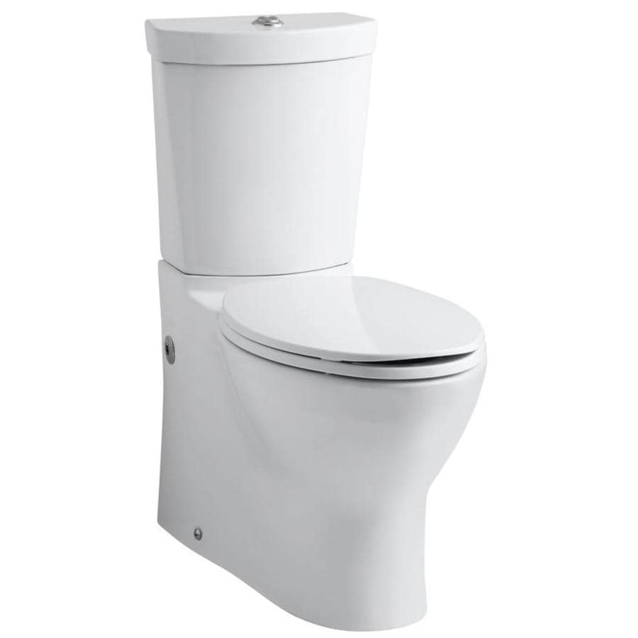 KOHLER Persuade 1.6-GPF (6.06-LPF) Almond Elongated 2-piece Toilet
