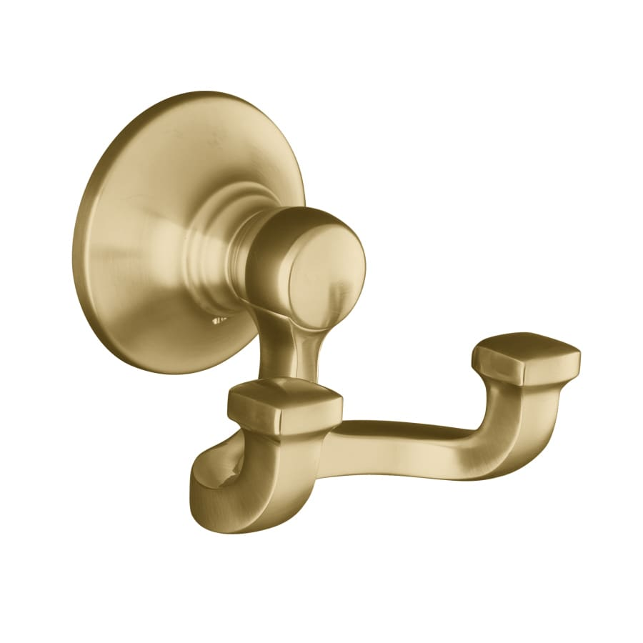 KOHLER Bancroft 2-Hook Vibrant Brushed Bronze Towel Hook
