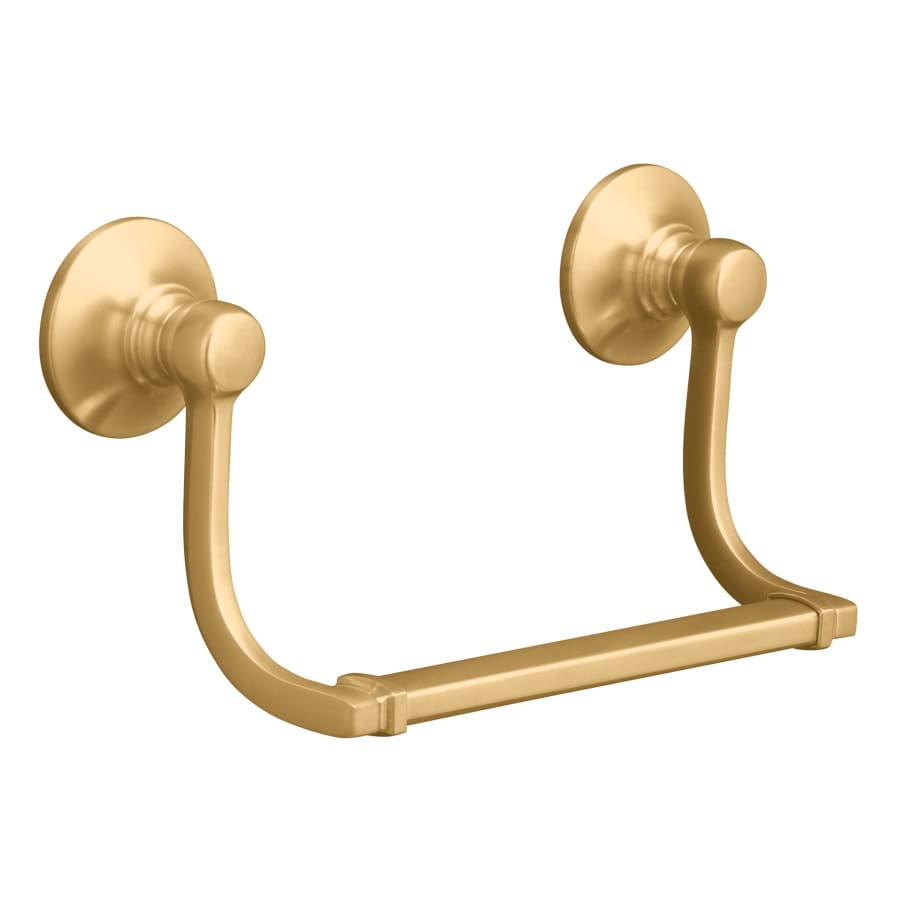 KOHLER Bancroft Vibrant Brushed Bronze Wall Mount Towel Ring