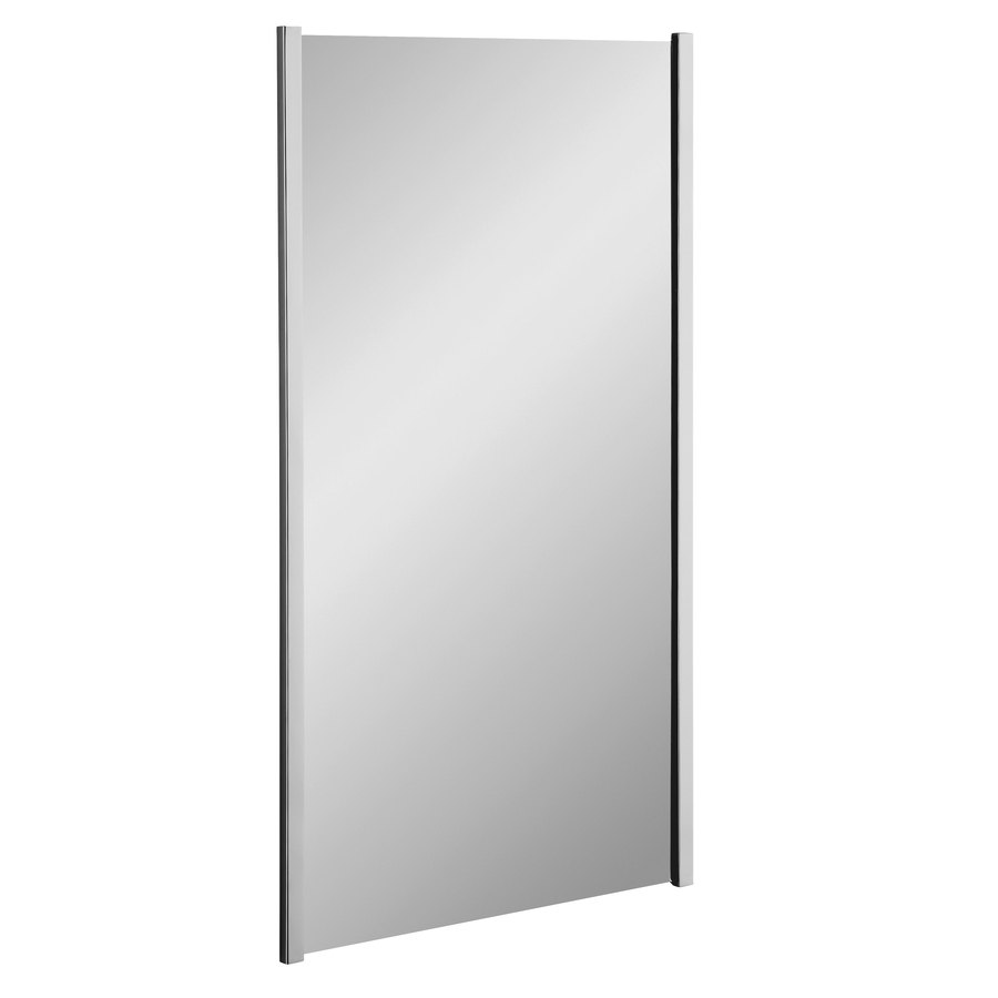 Shop kohler loire w x h polished chrome Polished chrome bathroom mirrors