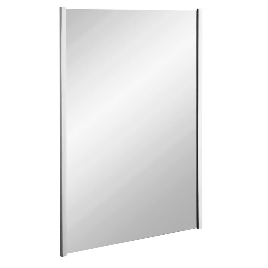 KOHLER Loire 24.75-in W x 33.25-in H Polished Chrome Rectangular Bathroom Mirror