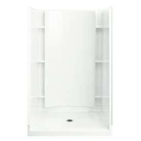 Sterling Accord 4 Piece Alcove Shower Kit (Common: 36 In X 48
