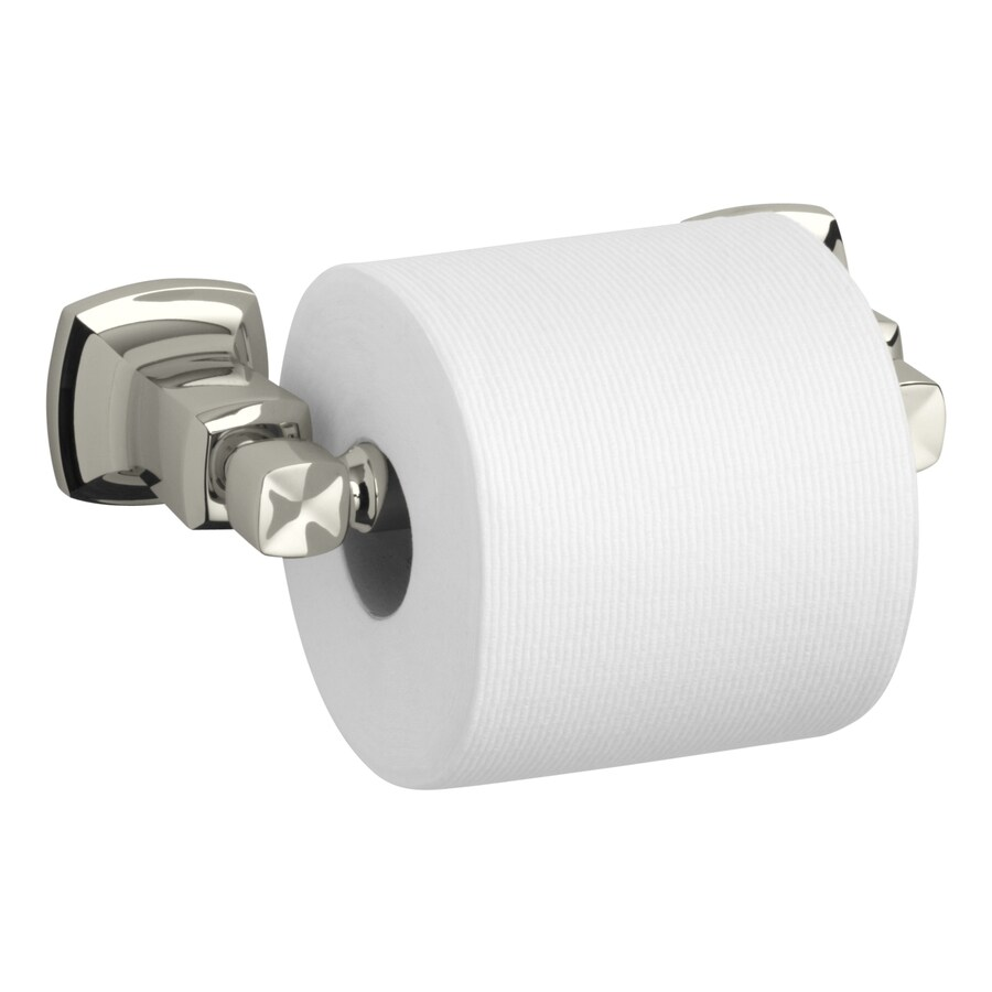 KOHLER Margaux Vibrant Polished Nickel Surface Mount Toilet Paper Holder