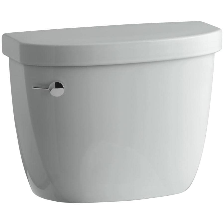 KOHLER Cimarron Ice Grey 1.6-GPF Single-Flush Toilet Tank
