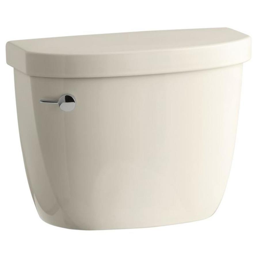 KOHLER Cimarron Black Black 1.28-GPF (4.85-LPF) 12 Rough-In Single-Flush High-Efficiency Toilet Tank