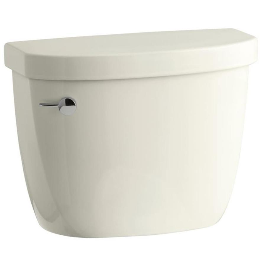KOHLER Cimarron Biscuit 1.28-GPF Single-Flush High-Efficiency Toilet Tank