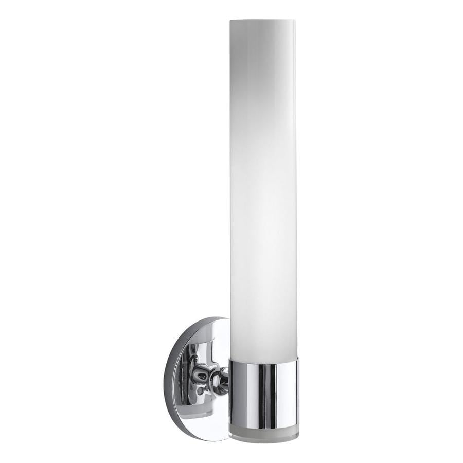 KOHLER Purist 4.75-in W 2-Light Polished Chrome Arm Wall Sconce