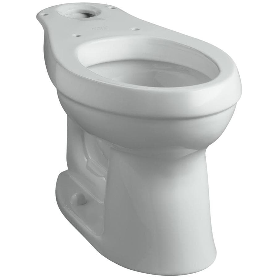 KOHLER Cimarron Chair Height Ice Grey 12-in Rough-In Elongated Toilet Bowl