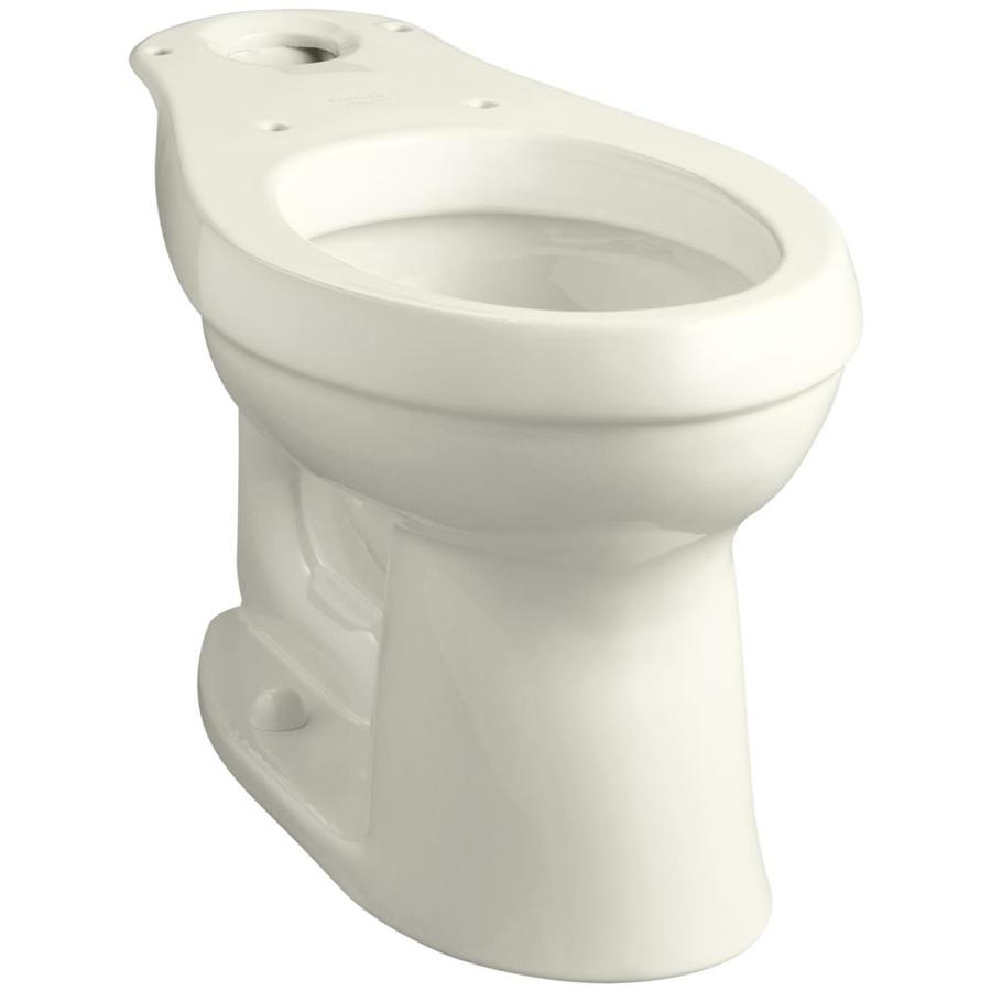 Shop Kohler Cimarron Biscuit Elongated Chair Height Toilet