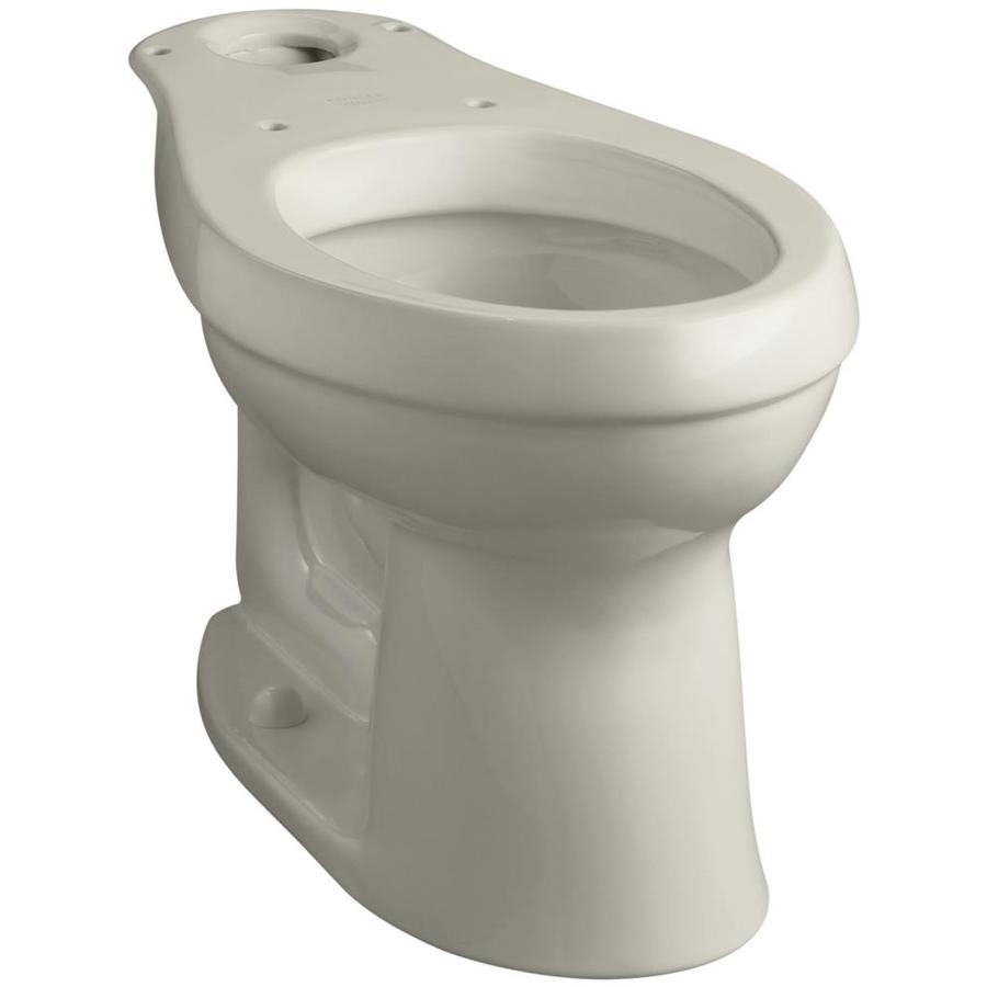 Shop Kohler Cimarron Sandbar Elongated Chair Height Toilet