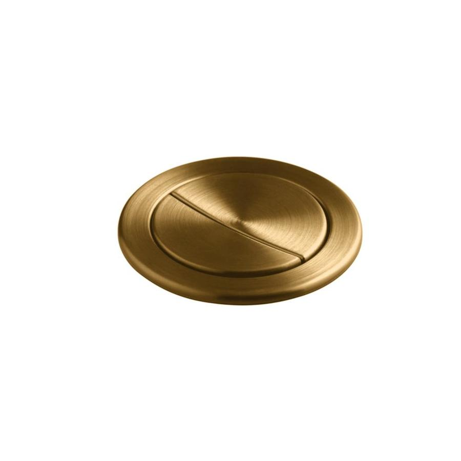 Kohler Vibrant Brushed Bronze Flush Actuator At Lowes Com