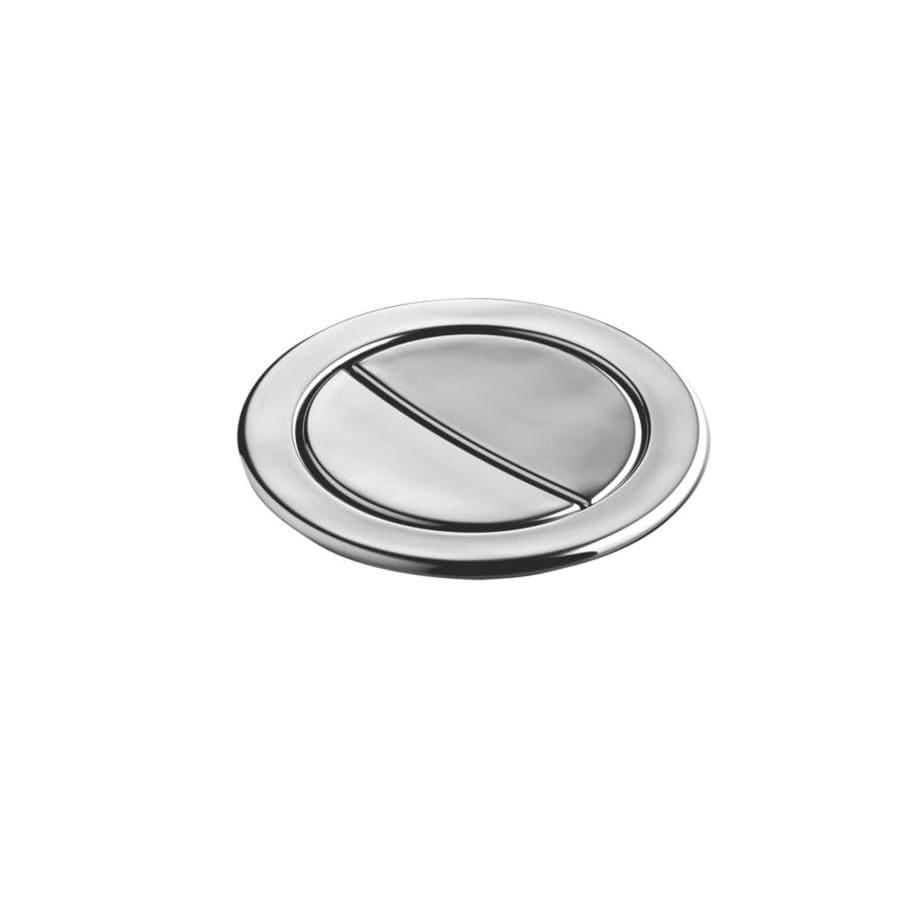 KOHLER Vibrant Polished Nickel Metal Flush Actuator