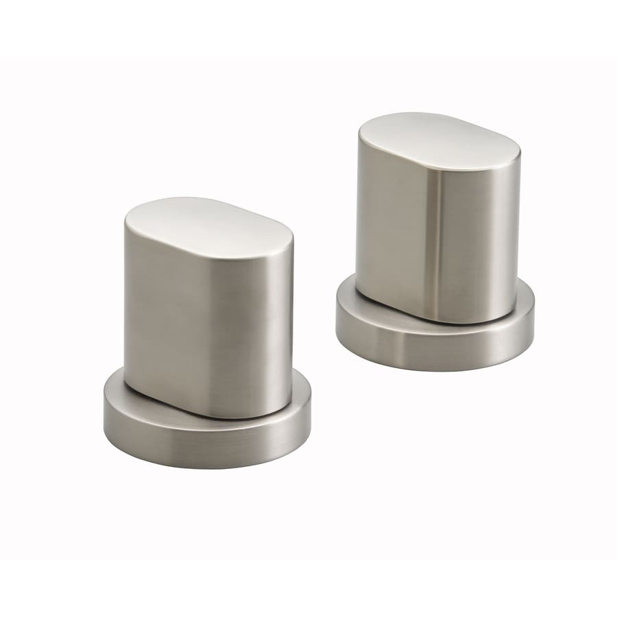 KOHLER 2-Pack Nickel Bathtub/Shower Handle