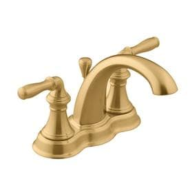 kohler devonshire 2handle 4in centerset watersense bathroom faucet drain included