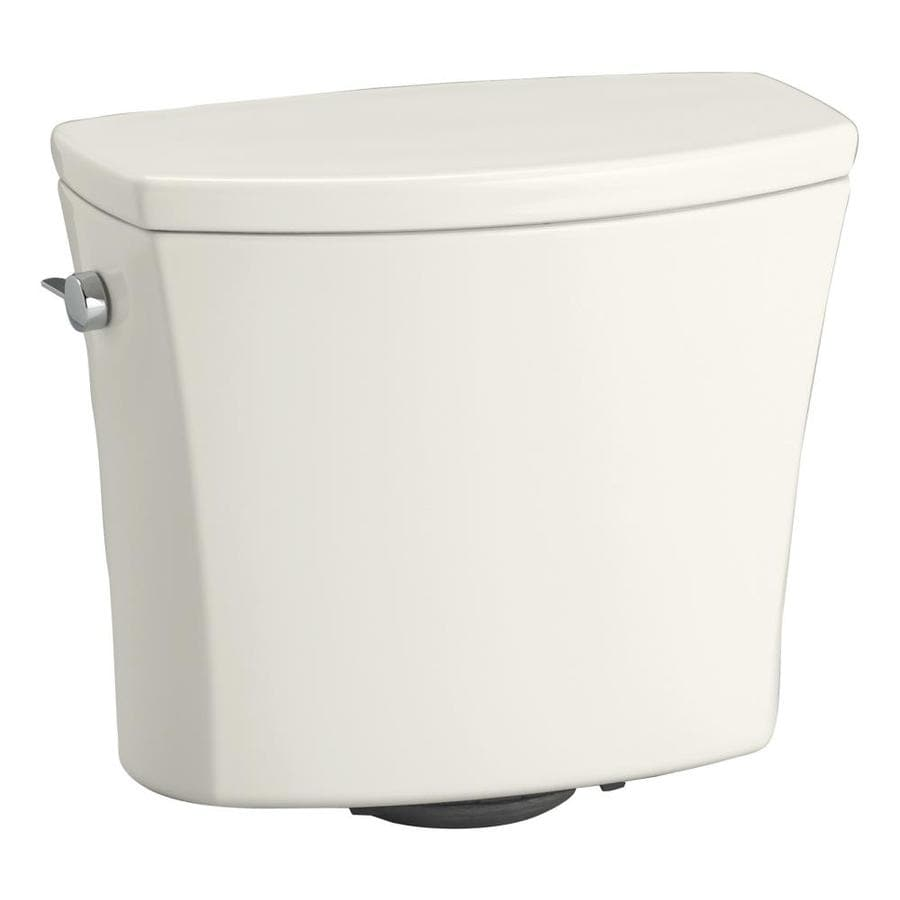KOHLER Kelston Biscuit 1.28-GPF (4.85-LPF) 12-in Rough-in Single-Flush Toilet Tank