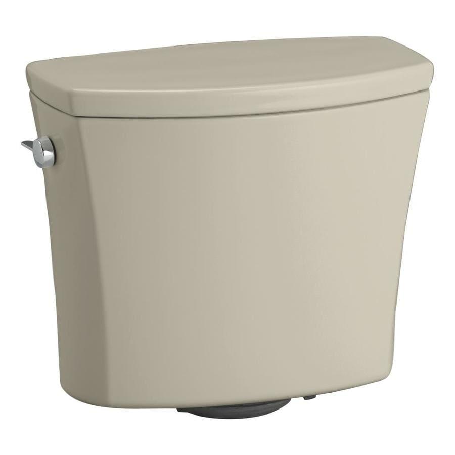 KOHLER Kelston Sandbar 1.28-GPF Single-Flush Toilet Tank