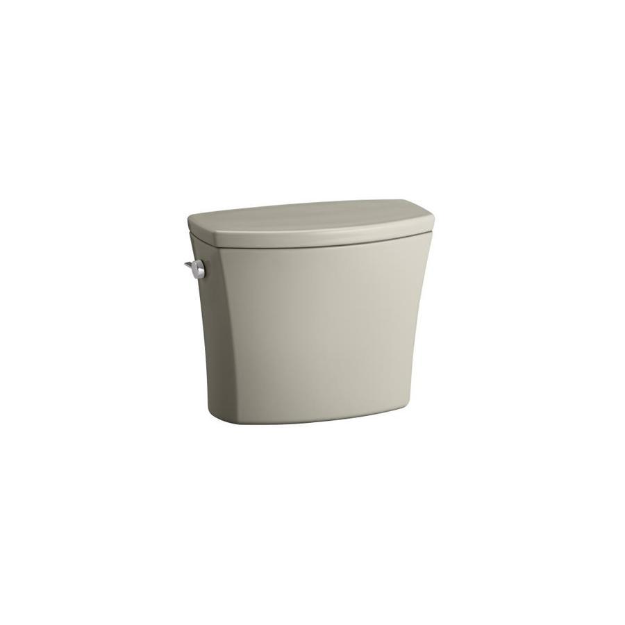 KOHLER Kelston Sandbar 1.6-GFP (6.06-LPF) 12-in Rough-in Single-Flush Toilet Tank
