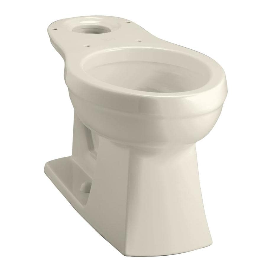 KOHLER Kelston Almond Round Chair Height Toilet Bowl