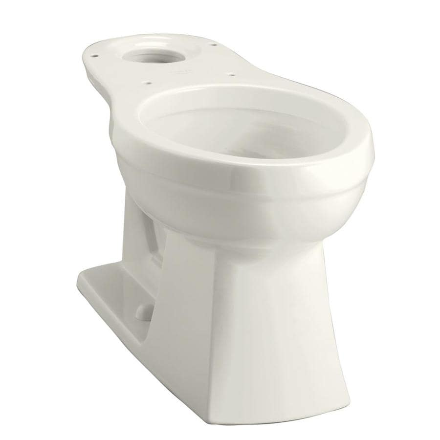 KOHLER Kelston Chair Height Biscuit 12-in Rough-In Elongated Toilet Bowl