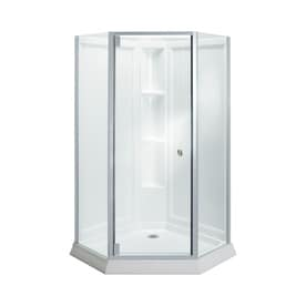 Beau Sterling Solitaire White Wall High Impact Polystyrene Floor Neo Angle  4 Piece Corner