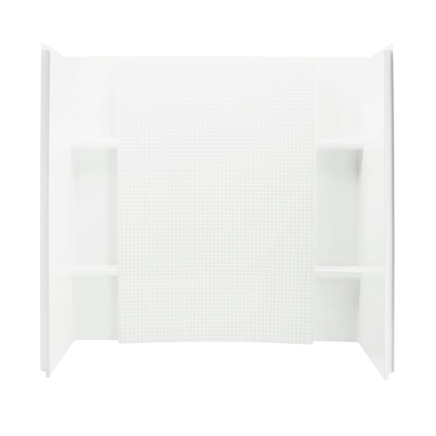 Sterling Accord White Shower Wall Trim Kit