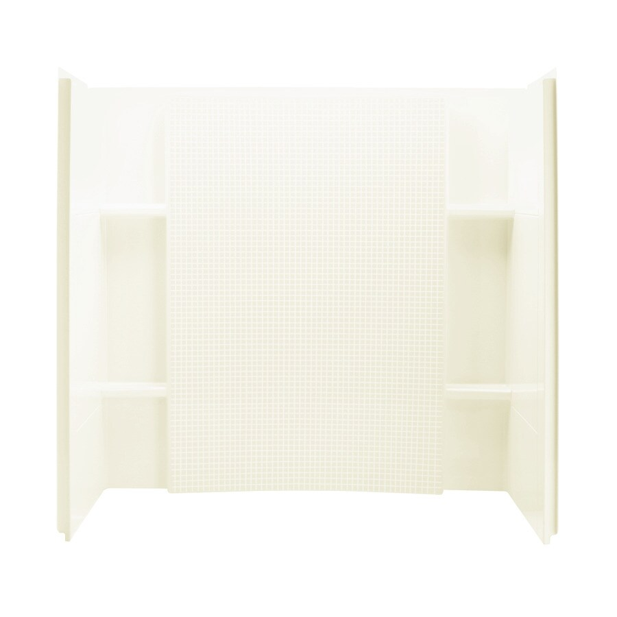 Sterling Accord Vikrell Bathtub Wall Surround (Common: 32-in x 60-in; Actual: 55.25-in x 33.25-in x 60-in)