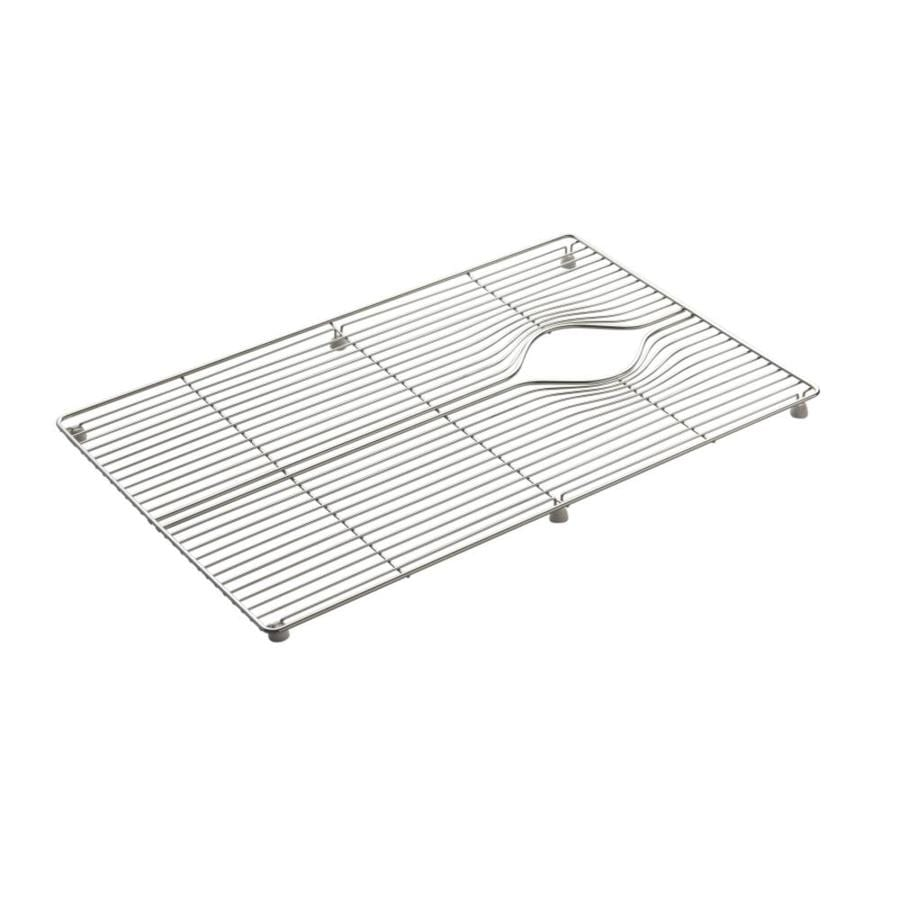 Shop KOHLER Indio 15-in x 24.2-in Sink Grid at Lowes.com