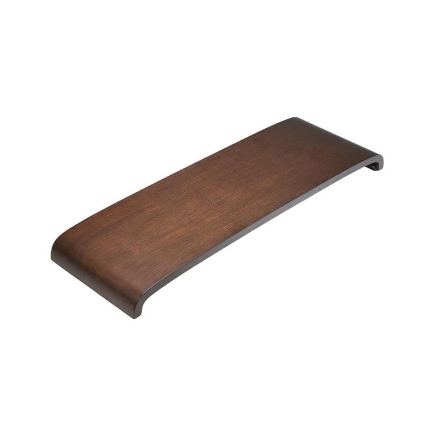 Shop KOHLER Light Antique Walnut Wood Freestanding Transfer Bench at ...