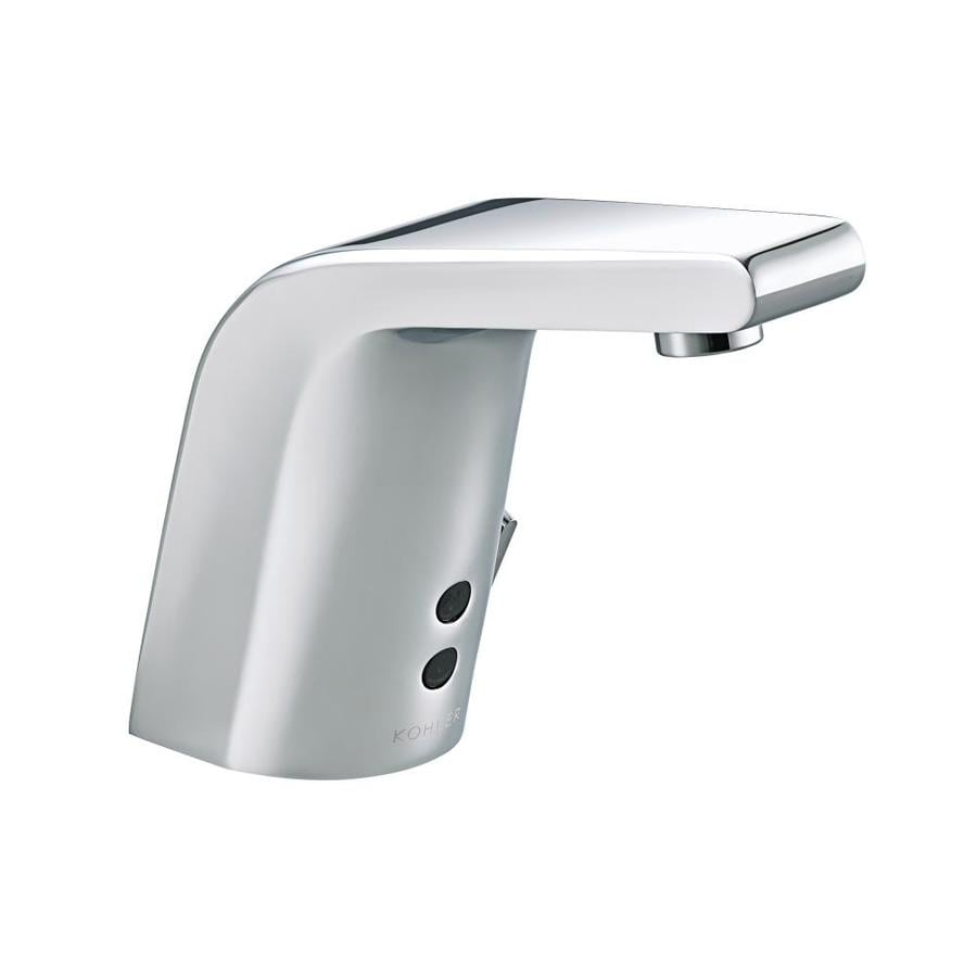 kohler commercial kitchen faucets shop kohler insight polished chrome single 20240